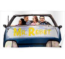 Mr Robot - Sitcom '80s '90s Poster