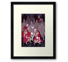 The Undead Legion  Framed Print