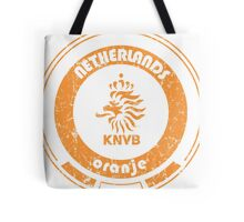 World Cup Football - Team Netherlands (distressed) Tote Bag