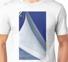 Blue And White Breeze Unisex T-Shirt
