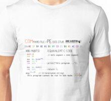 a mini COM / PE stub Unisex T-Shirt