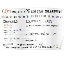 a mini COM / PE stub Poster
