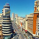 Gran Via. Madrid. Vincci Capitol Hotel. by terezadelpilar ~ art & architecture
