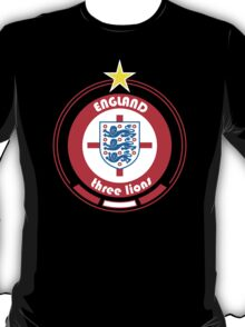 World Cup Football 6/8 - Team England T-Shirt
