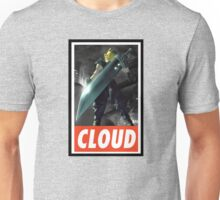 (FINAL FANTASY) Cloud In Game  Unisex T-Shirt