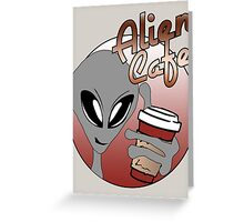 Alien Cafe Greeting Card