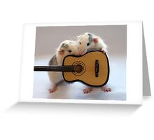 Singing together a little song :) Greeting Card