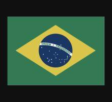 Brazilian Flag Kids Tee