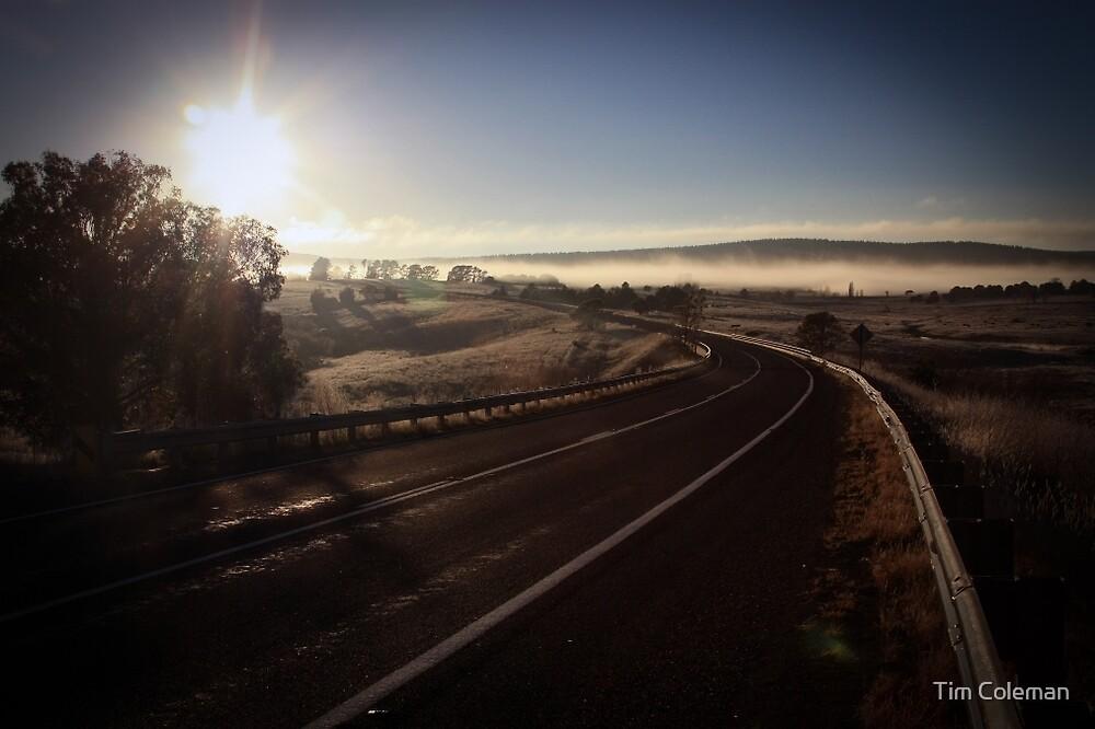Winter Sunrise, Kings Highway by Tim Coleman