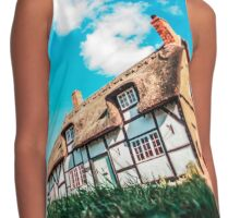 Cottage in the Country Contrast Tank
