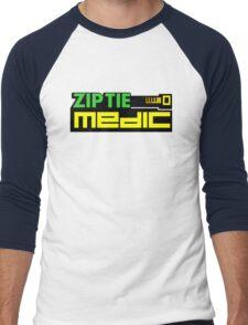 ZIP TIE medic (1) Men's Baseball ¾ T-Shirt