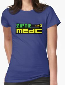 ZIP TIE medic (1) Womens Fitted T-Shirt