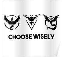 pokemon go - choose wisely Poster