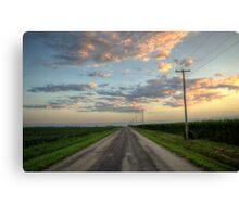 Rural Roads Canvas Print