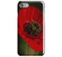 rode papaver iPhone Case/Skin