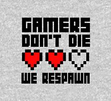 Gamers Dont Die We Respawn Women's Fitted Scoop T-Shirt