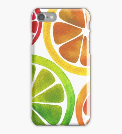 A Burst of Citrus iPhone Case/Skin