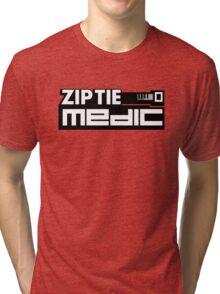 ZIP TIE medic (2) Tri-blend T-Shirt