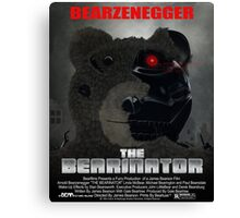 BEARINATOR Movie Poster Style Canvas Print