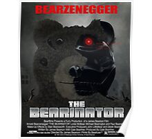 BEARINATOR Movie Poster Style Poster
