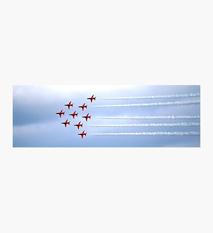 The Red Arrows Panorama Photographic Print