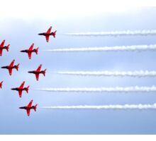 The Red Arrows Panorama Sticker