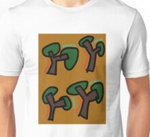 """""""Techno XXXIII (2016) (Trees)"""" by artcollect Unisex T-Shirt"""