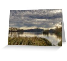 Castle Howard Lake Greeting Card