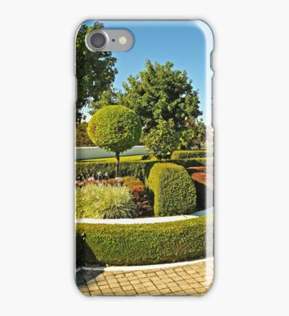 Topiary Gardens #3 iPhone Case/Skin