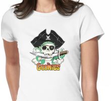 The Goonies - One Eyed Willy Variant Womens Fitted T-Shirt