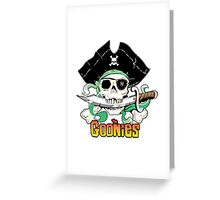 The Goonies - One Eyed Willy Variant Greeting Card