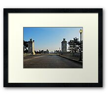 Memorial Bridge on an early Sunday Morning Framed Print