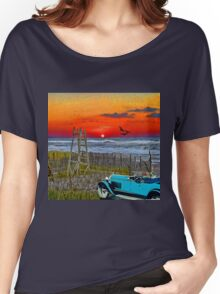 A Drive On The Beach Women's Relaxed Fit T-Shirt