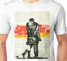 Again the sunset again Love. Unisex T-Shirt