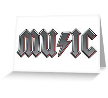 MUSIC 2 Greeting Card