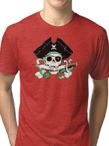 Pirate - One Eyed Willie Tri-blend T-Shirt