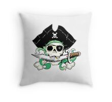 Pirate - One Eyed Willie Throw Pillow