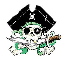 Pirate - One Eyed Willie Photographic Print