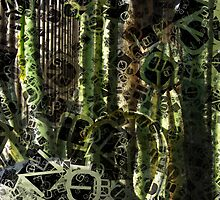 Cactus Garden Letters 4 by Christopher Johnson