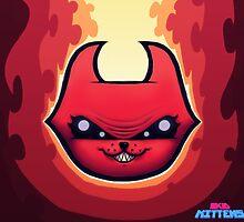 Skid Kittens - Hell Kittens FACE by steeleart