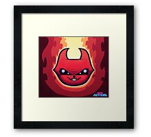 Skid Kittens - Hell Kittens FACE Framed Print