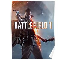Battlefield 1 : A Shooter Video Game 2016 Poster