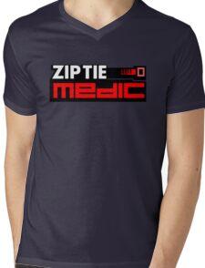 ZIP TIE medic (6) Mens V-Neck T-Shirt