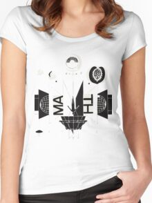 #1 Bon Iver / 22, A Million Women's Fitted Scoop T-Shirt