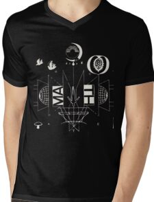 #1 Bon Iver / 22, A Million Mens V-Neck T-Shirt