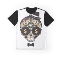 Bling Sugar Skull Graphic T-Shirt