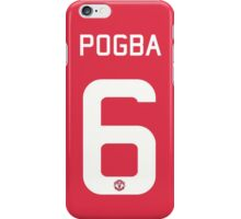 Pogba iPhone Case/Skin