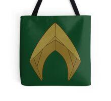 Aquaman DC emblem JL -Jason Momoa badass King  Tote Bag