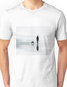 one man and his dog Unisex T-Shirt