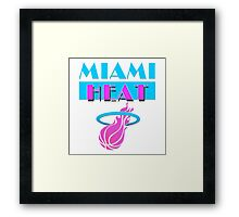Heat Vice Framed Print